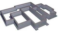 Расчет фундамента для дома из кирпича калькулятор